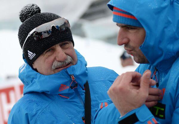 Александр Касперович (слева) и Рикко Гросс