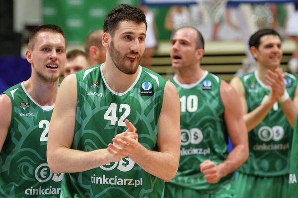 Баскетболисты Зелёны-Гуры