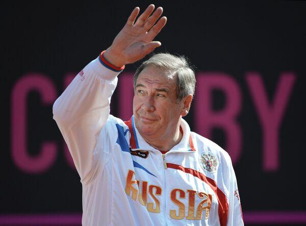 Капитан сборной России по теннису Шамиль Тарпищев