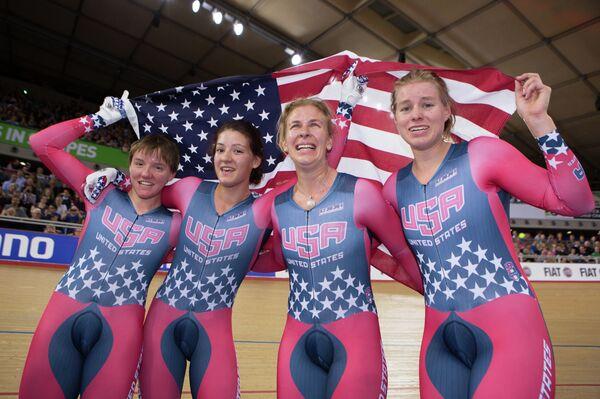 Велосипедистки сборной США