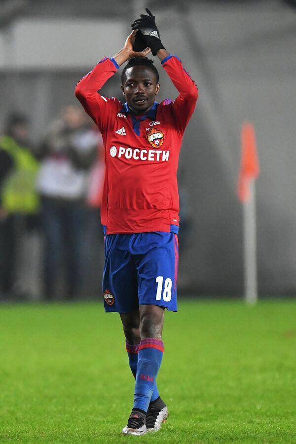Нападающий ПФК ЦСКА Ахмед Муса