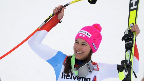 Швейцарские горнолыжники выиграли командные соревнования на этапе КМ