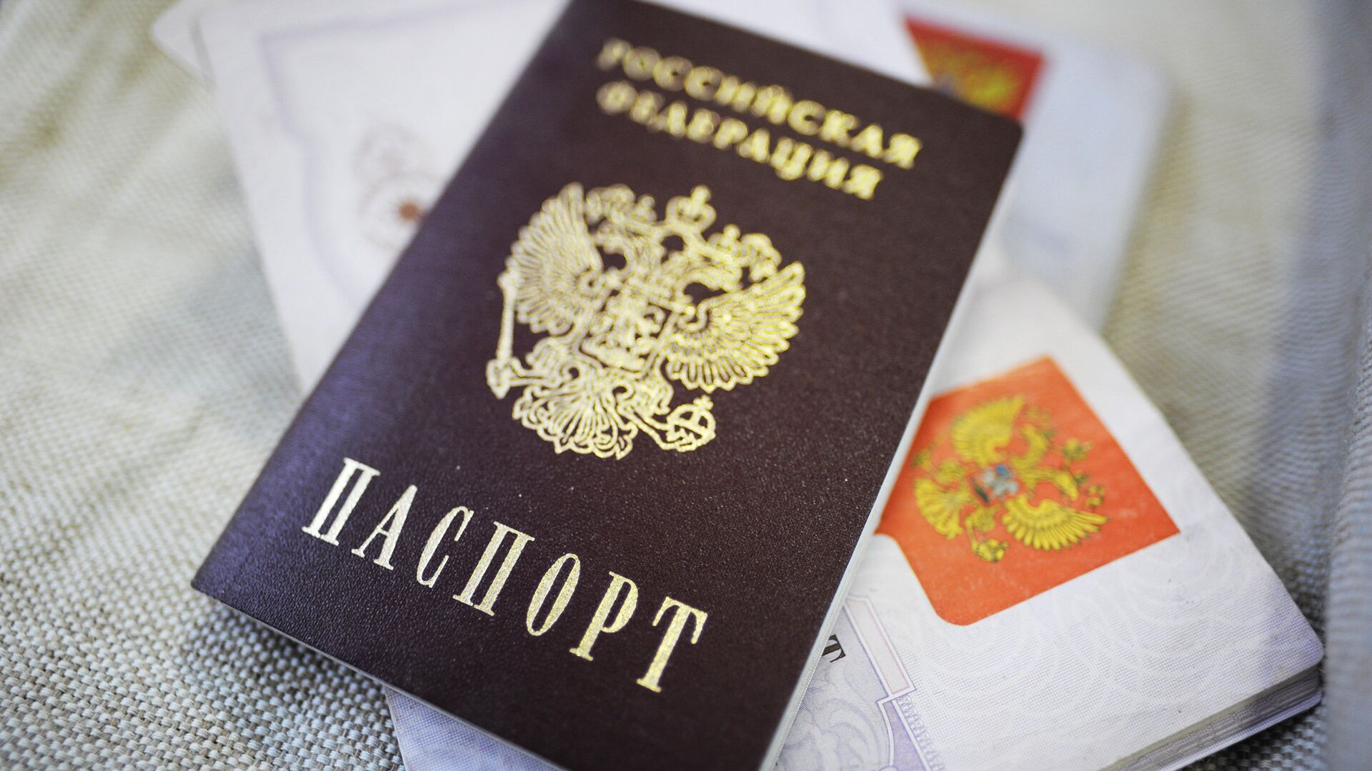 Российский паспорт - РИА Новости, 1920, 27.01.2021