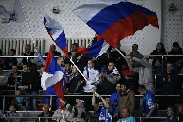 Болельщики краснодарского Динамо