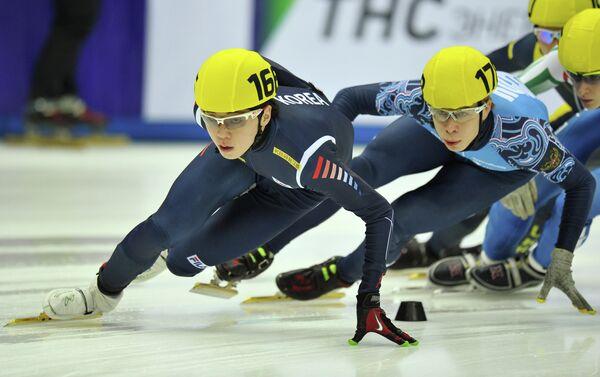 Но Чжин Кё и Семен Елистратов (слева направо)