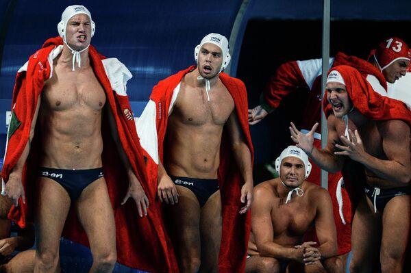 Ватерполисты сборной Венгрии