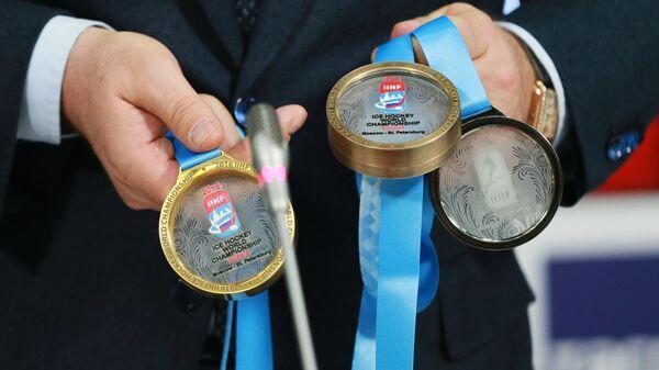 Медали чемпионата мира по хоккею. Архивное фото