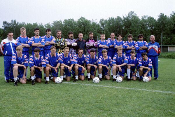 Игроки сборной России по футболу, участники чемпионата Европы 1996 года в Англии