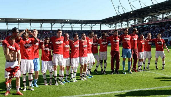 Футболисты Баварии после победы в чемпионате Германии