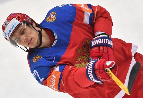 Защитник сборной России Никита Зайцев