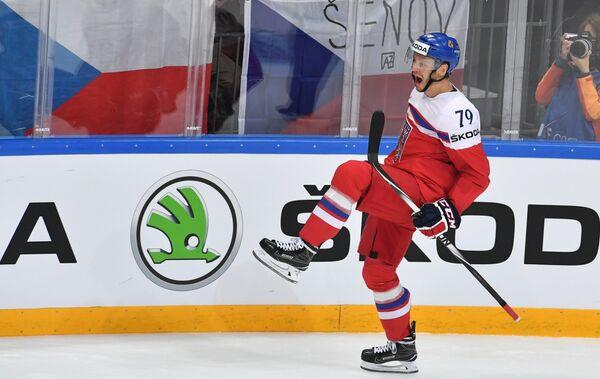 Нападающий сборной Чехии Томаш Зогорна