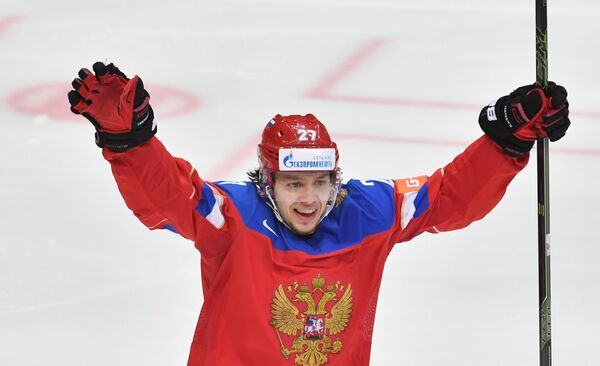 Нападающий сборной России Артемий Панарин