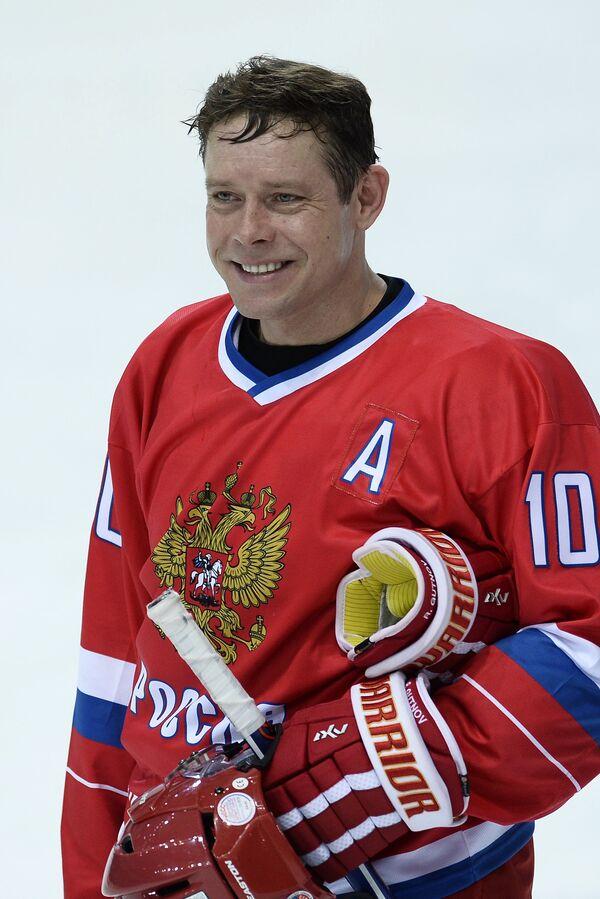 Нападающий сборной России Павел Буре