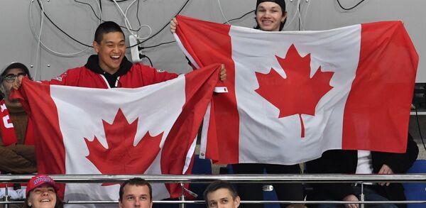 Болельщики сборной Канады