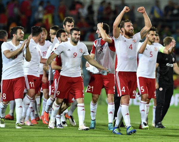 Футболисты сборной Грузии