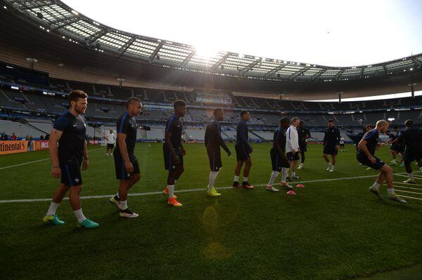 Игроки сборной Франции