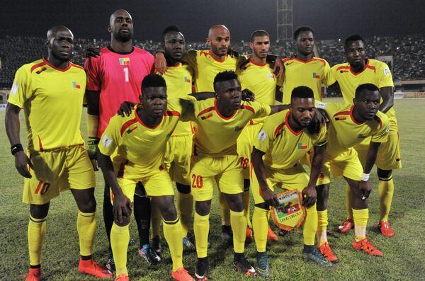 Футболисты сборной Бенина
