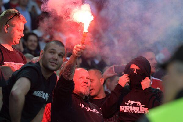 Венгерские болельщики