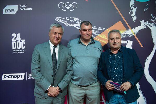 Вячеслав Тельнов, Сергей Мирошниченко и Леонид Верещагин (слева направо)