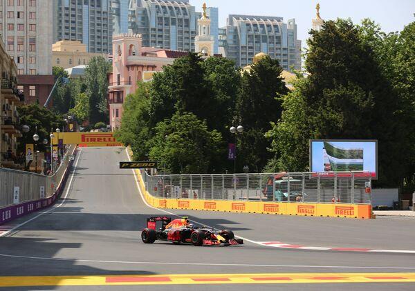 Автоспорт. Формула 1. Гран-при Европы. Квалификация