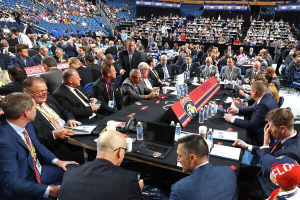 Церемония драфта НХЛ 2016 в Баффало