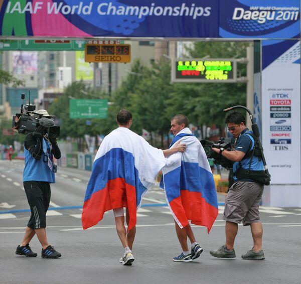 Сергей Бакулин и Денис Нижегородов (справа налево)