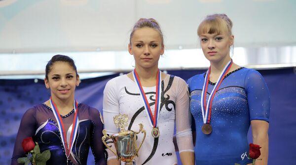 Седа Тутхалян, Мария Пасека и Татьяна Набиева (слева направо)