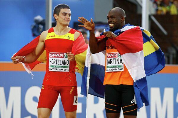 Бруно Хортелано (слева) и Чуранди Мартина