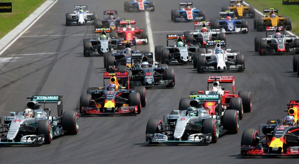 Пилоты на дистанции гонки Формулы-1 - Гран-при Венгрии